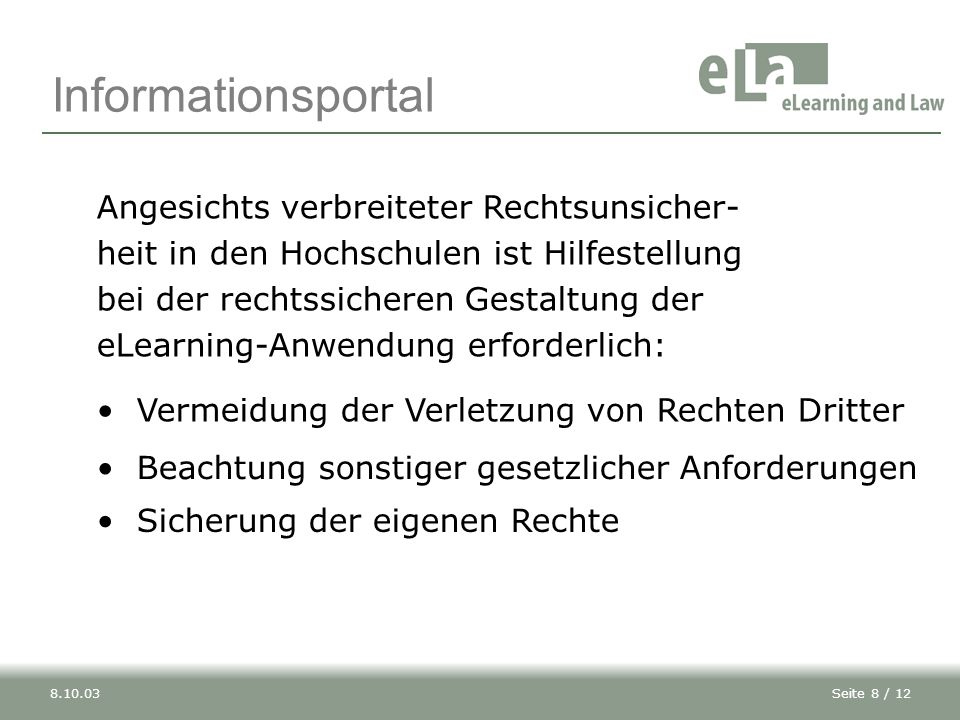 Informationsportal