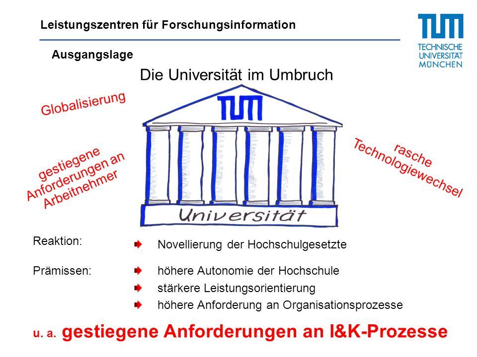 Die Universität im Umbruch
