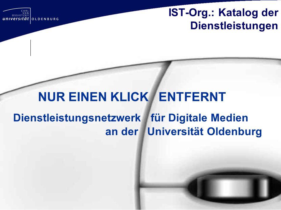 IST-Org.: Katalog der Dienstleistungen