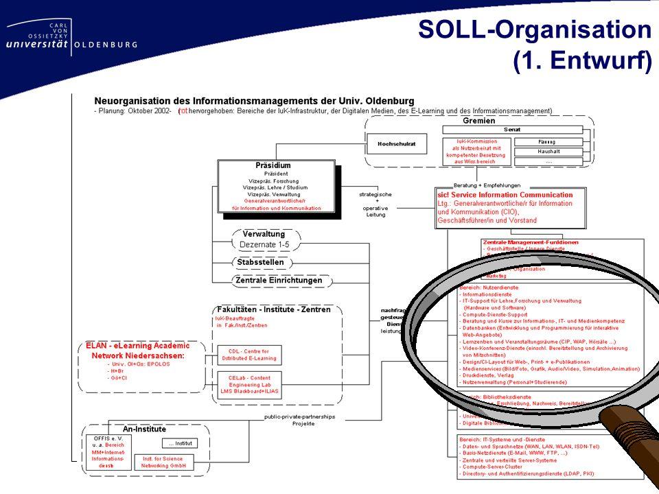 SOLL-Organisation (1. Entwurf)