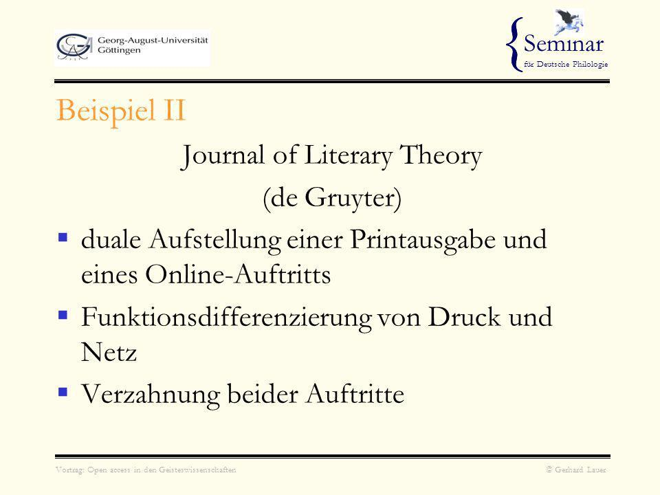Journal of Literary Theory