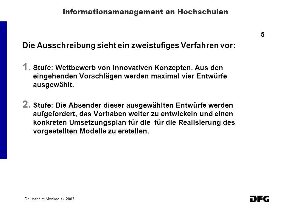 Informationsmanagement an Hochschulen