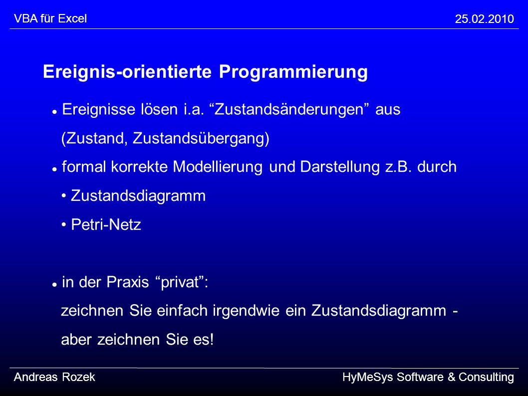 Ereignis-orientierte Programmierung