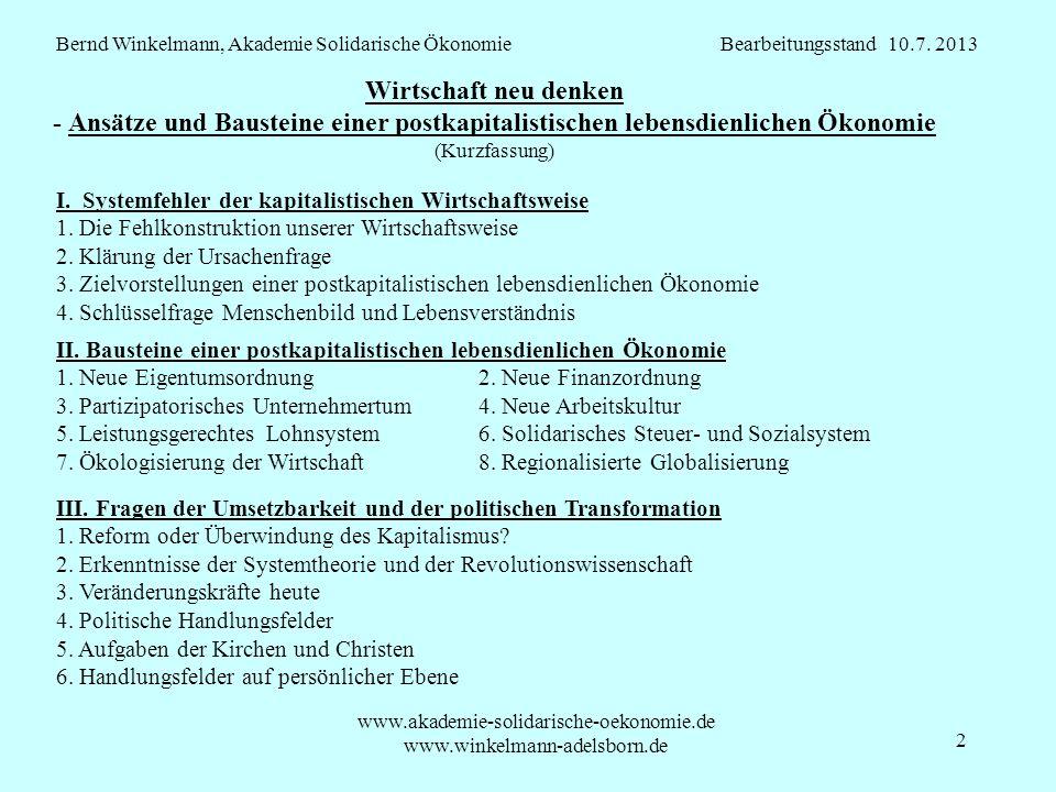 www.akademie-solidarische-oekonomie.de www.winkelmann-adelsborn.de