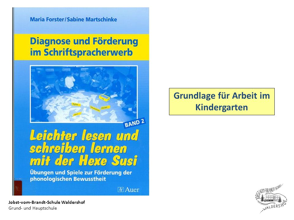 Grundlage für Arbeit im Kindergarten