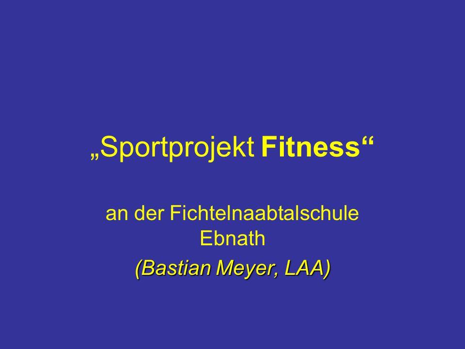 """Sportprojekt Fitness"