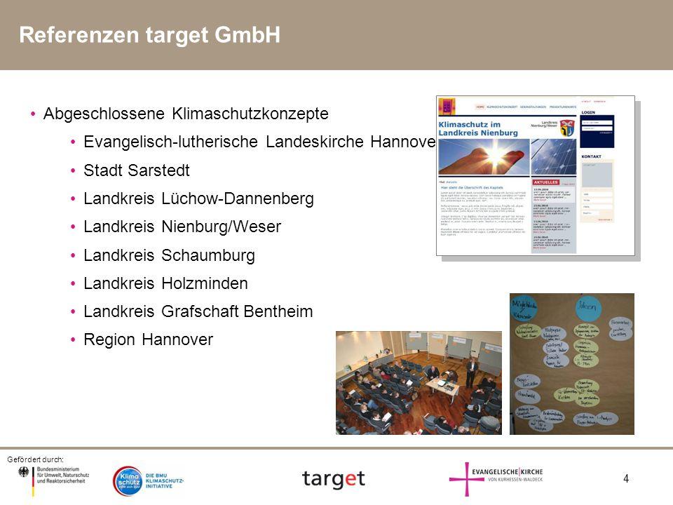Referenzen target GmbH