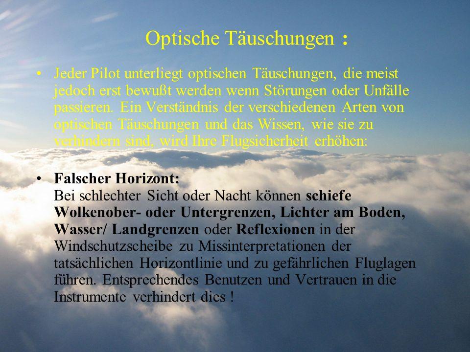 Optische Täuschungen :