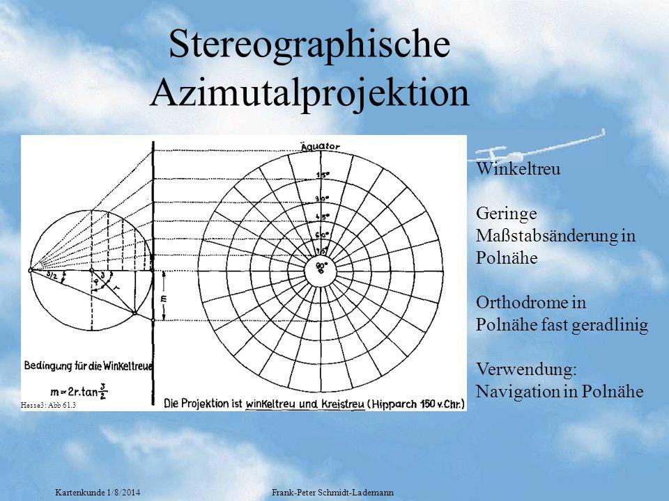 Stereographische Azimutalprojektion