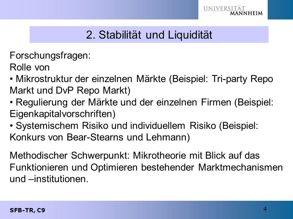 2. Stabilität und Liquidität