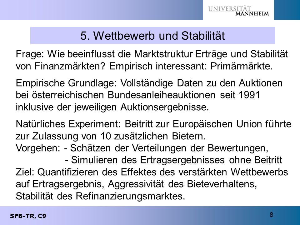 5. Wettbewerb und Stabilität