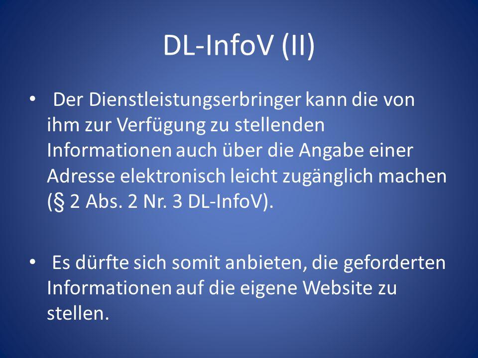 DL-InfoV (II)