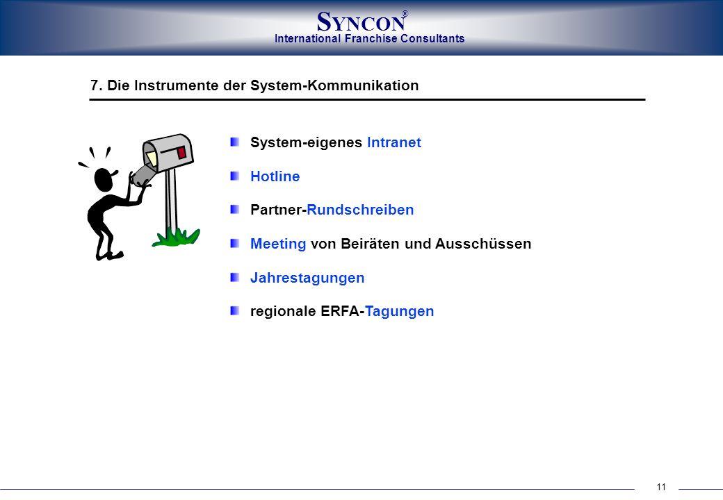 7. Die Instrumente der System-Kommunikation