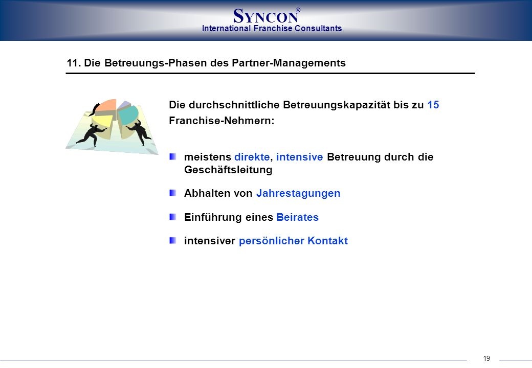 11. Die Betreuungs-Phasen des Partner-Managements