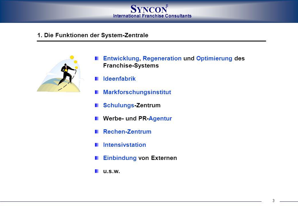 1. Die Funktionen der System-Zentrale