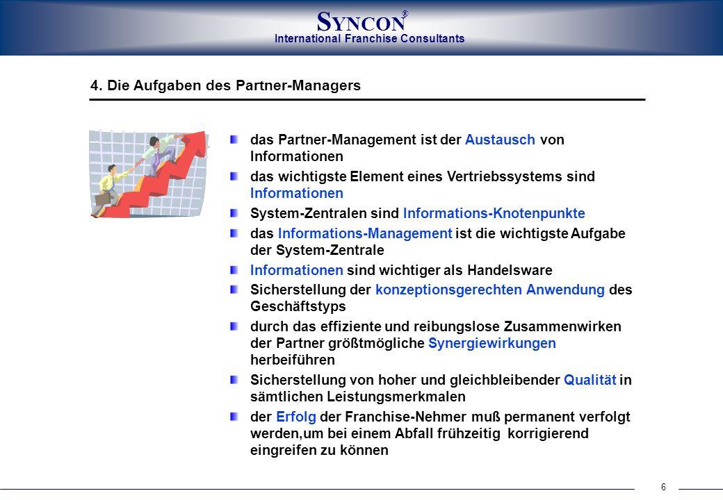 4. Die Aufgaben des Partner-Managers