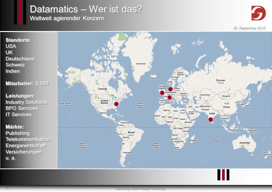 Datamatics – Wer ist das Weltweit agierender Konzern
