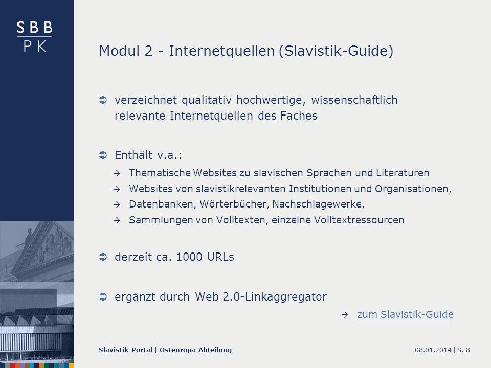 Modul 2 - Internetquellen (Slavistik-Guide)