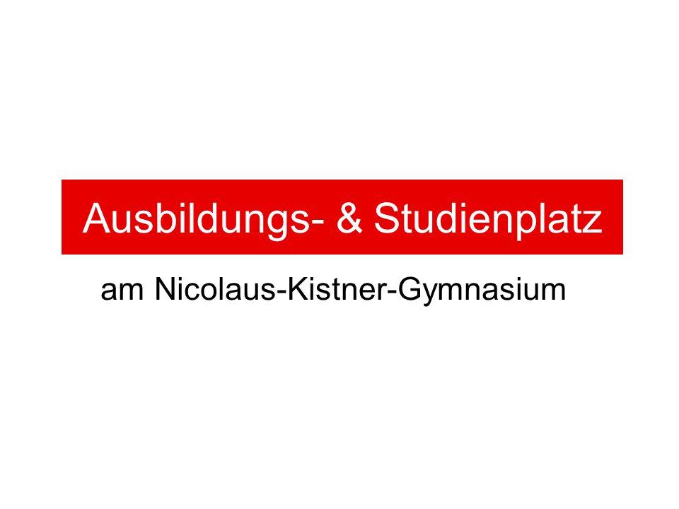 Ausbildungs- & Studienplatz