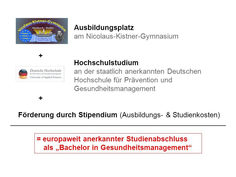 Ausbildungsplatz am Nicolaus-Kistner-Gymnasium