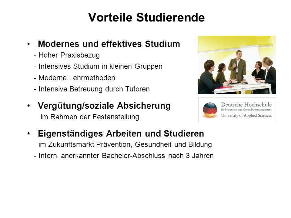 Vorteile Studierende Modernes und effektives Studium
