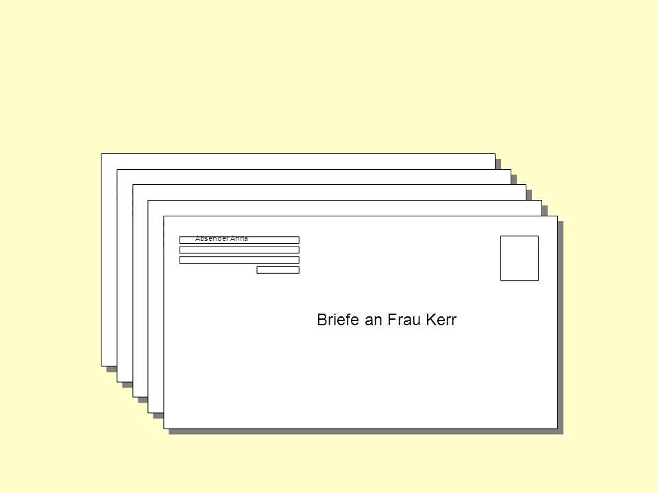 Briefe an Frau Kerr Briefe an Frau Kerr Briefe an Frau Kerr