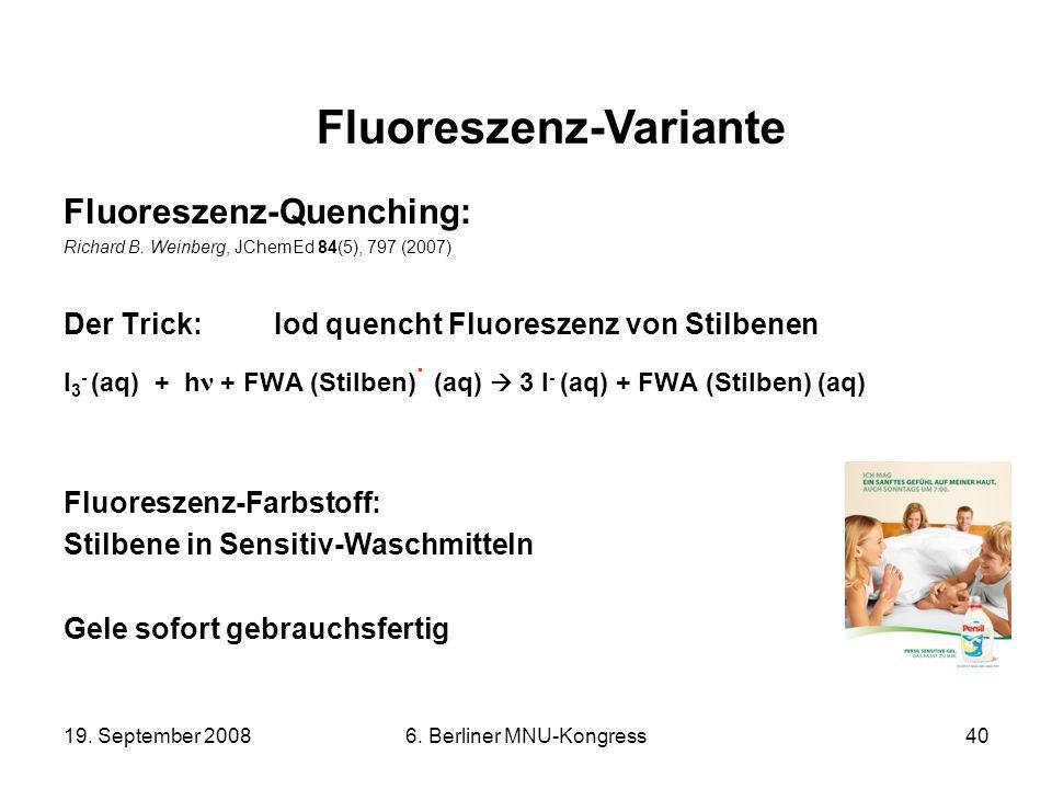 Fluoreszenz-Variante
