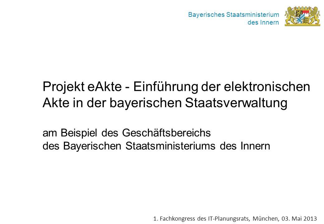 Projekt eAkte - Einführung der elektronischen