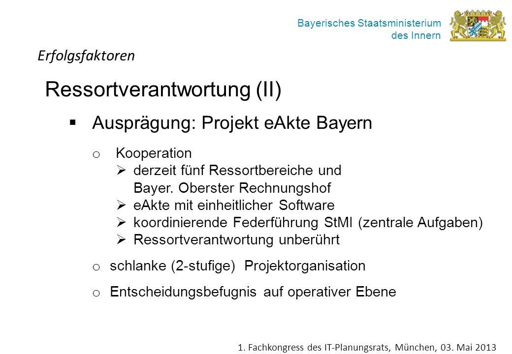 Ausprägung: Projekt eAkte Bayern