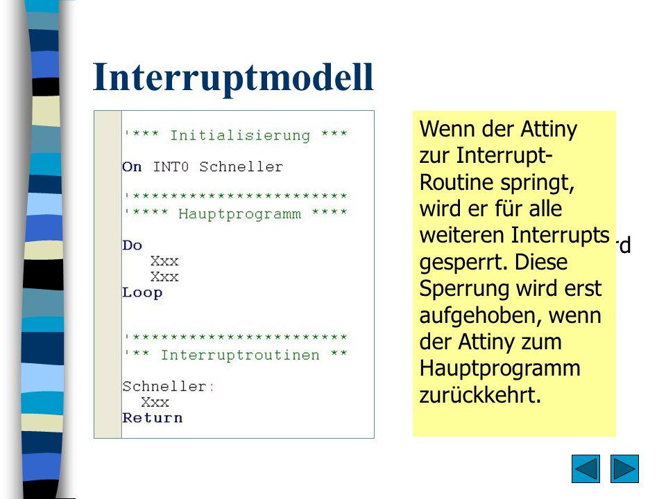 Interruptmodell
