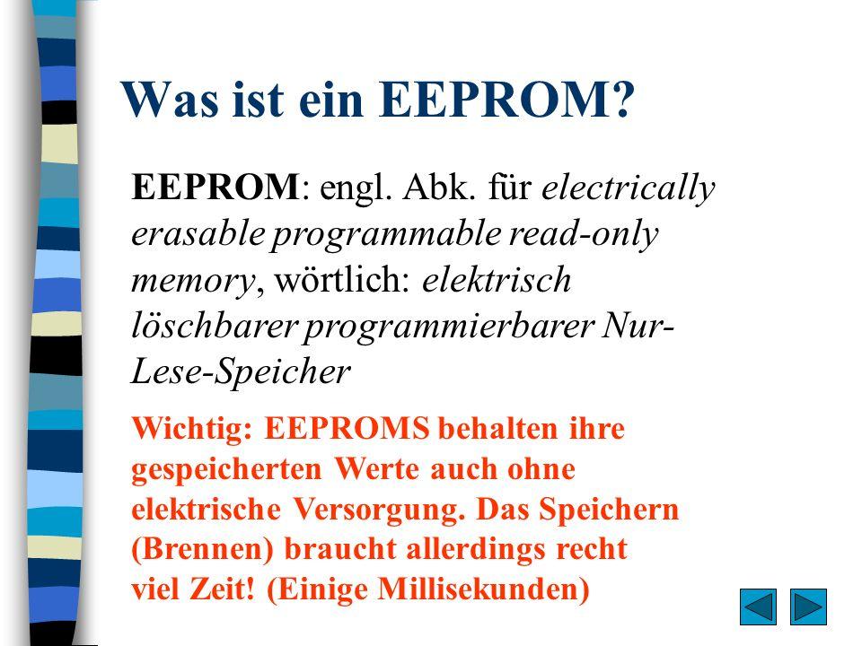 Was ist ein EEPROM