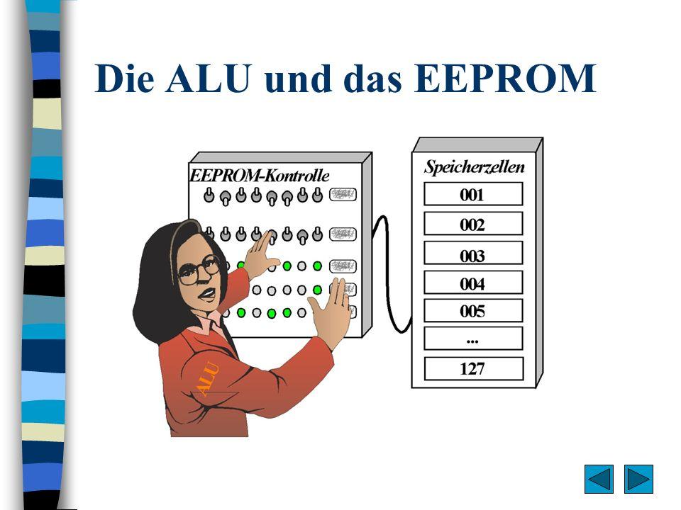 Die ALU und das EEPROM