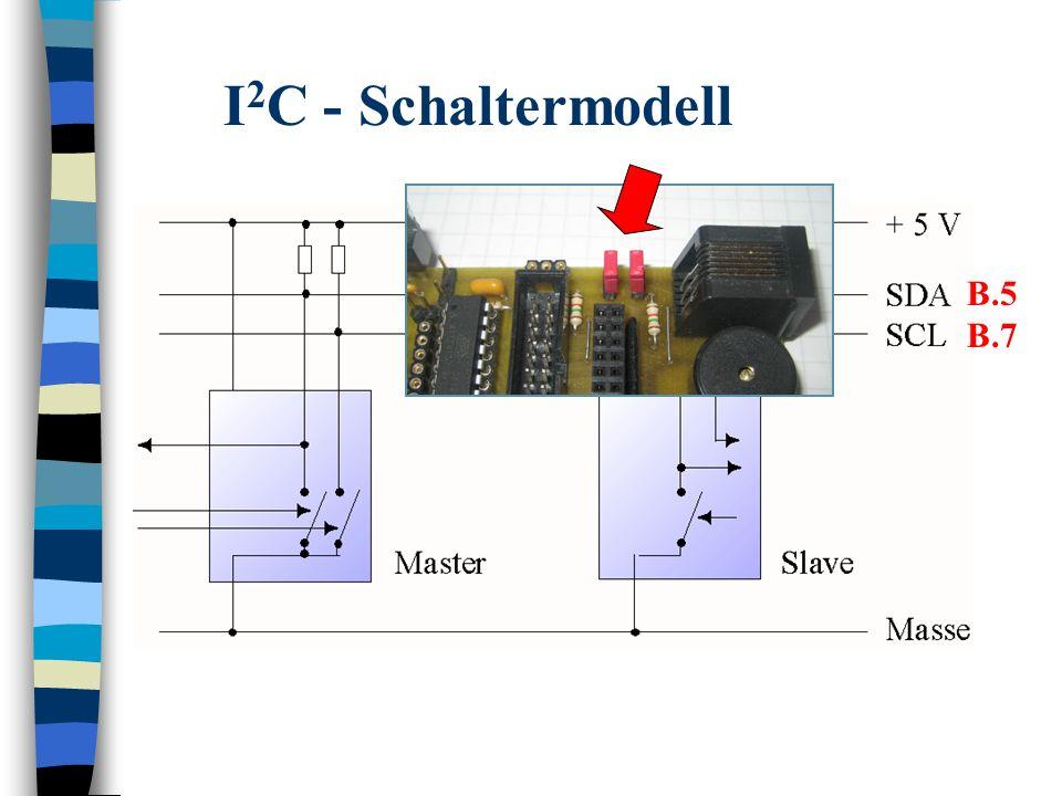 I2C - Schaltermodell B.5 B.7