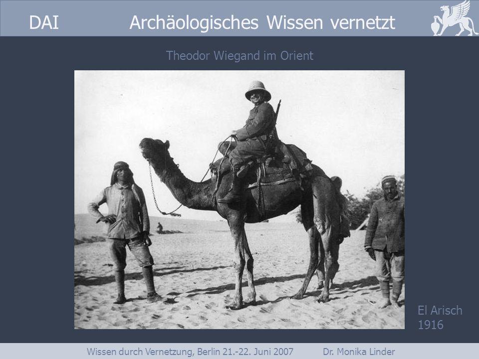 Theodor Wiegand im Orient