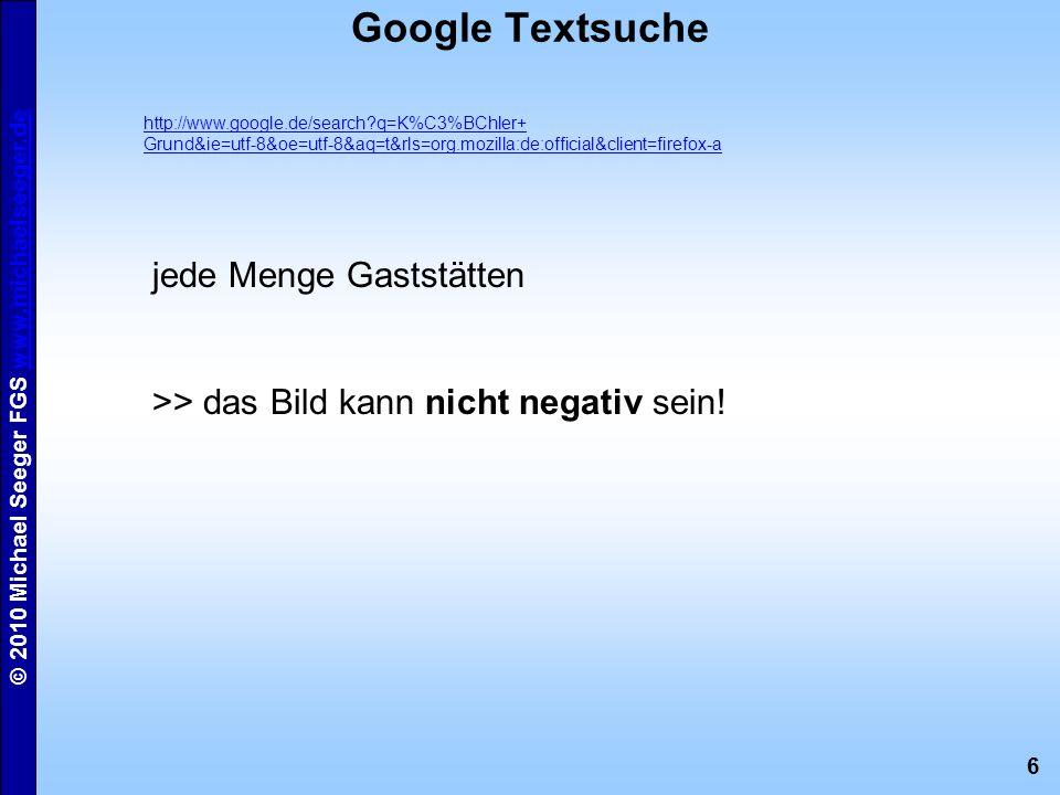 Google Textsuche jede Menge Gaststätten