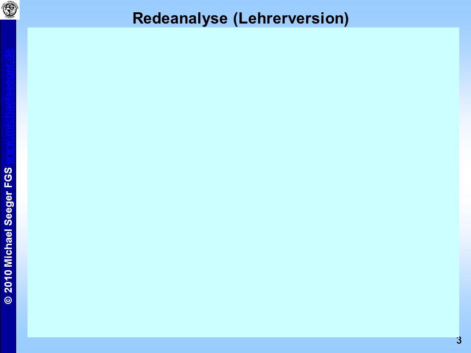 Redeanalyse (Lehrerversion)
