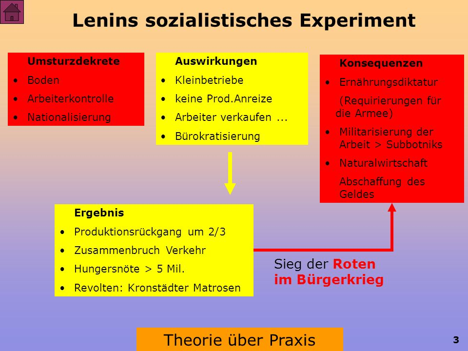 Lenins sozialistisches Experiment