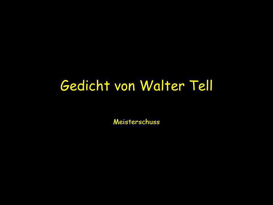 Gedicht von Walter Tell