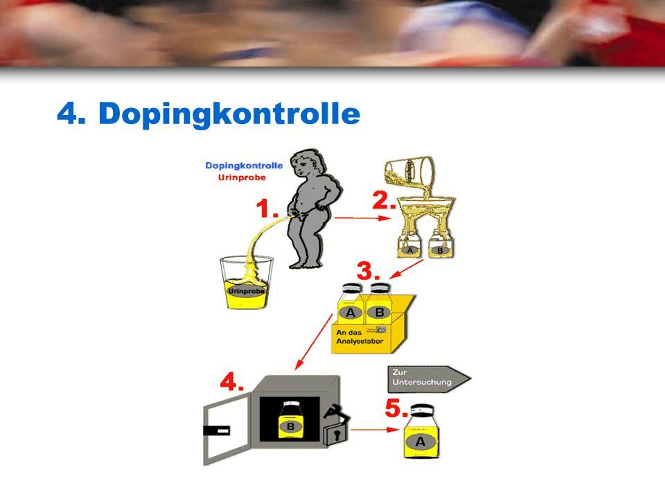 4. Dopingkontrolle