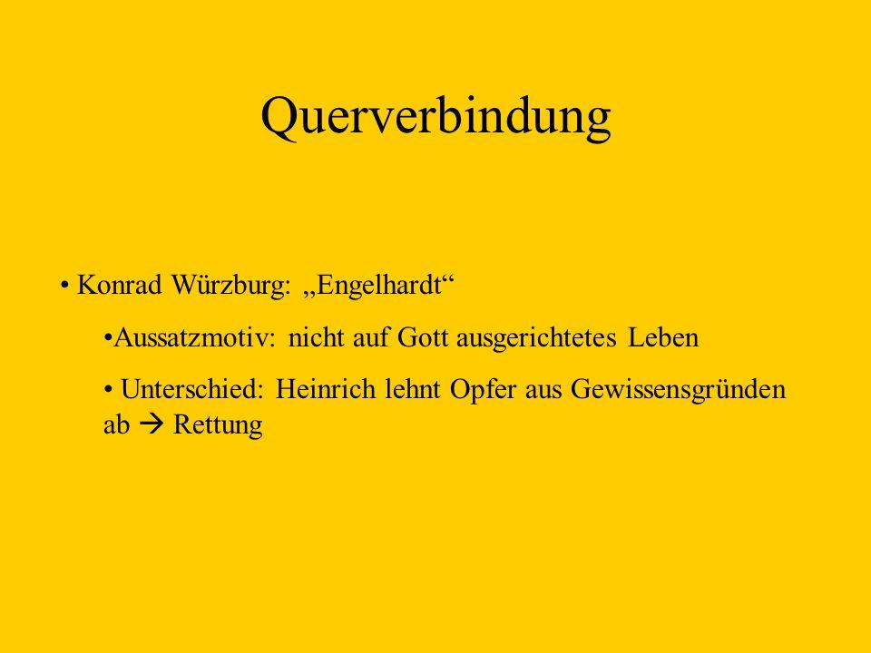 "Querverbindung Konrad Würzburg: ""Engelhardt"