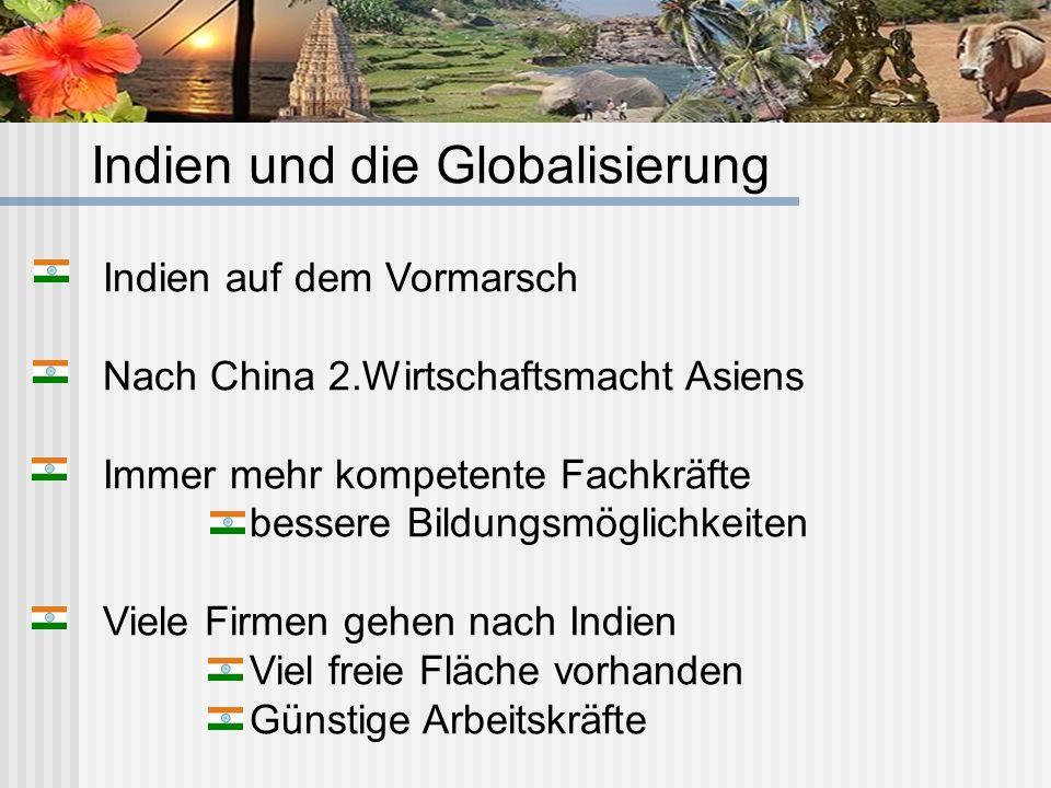 Indien und die Globalisierung