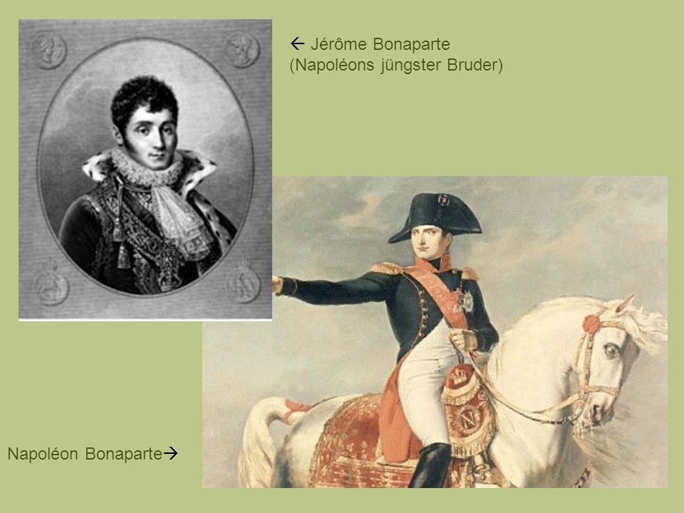  Jérôme Bonaparte (Napoléons jüngster Bruder)