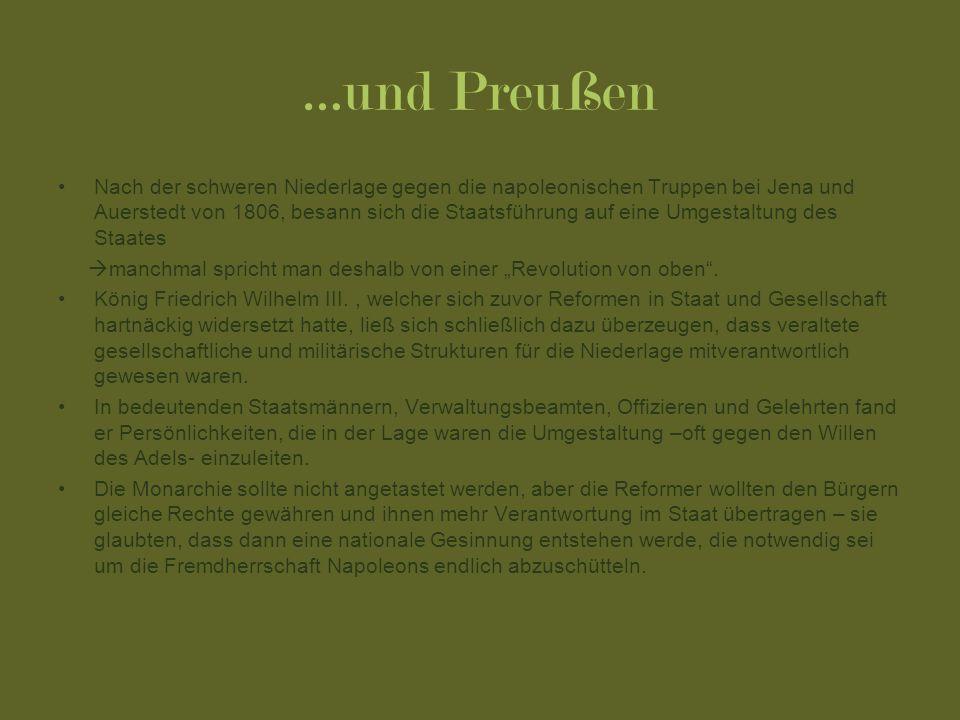 …und Preußen