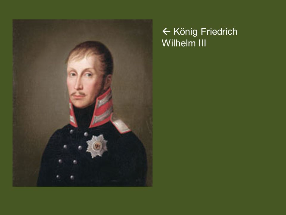  König Friedrich Wilhelm III