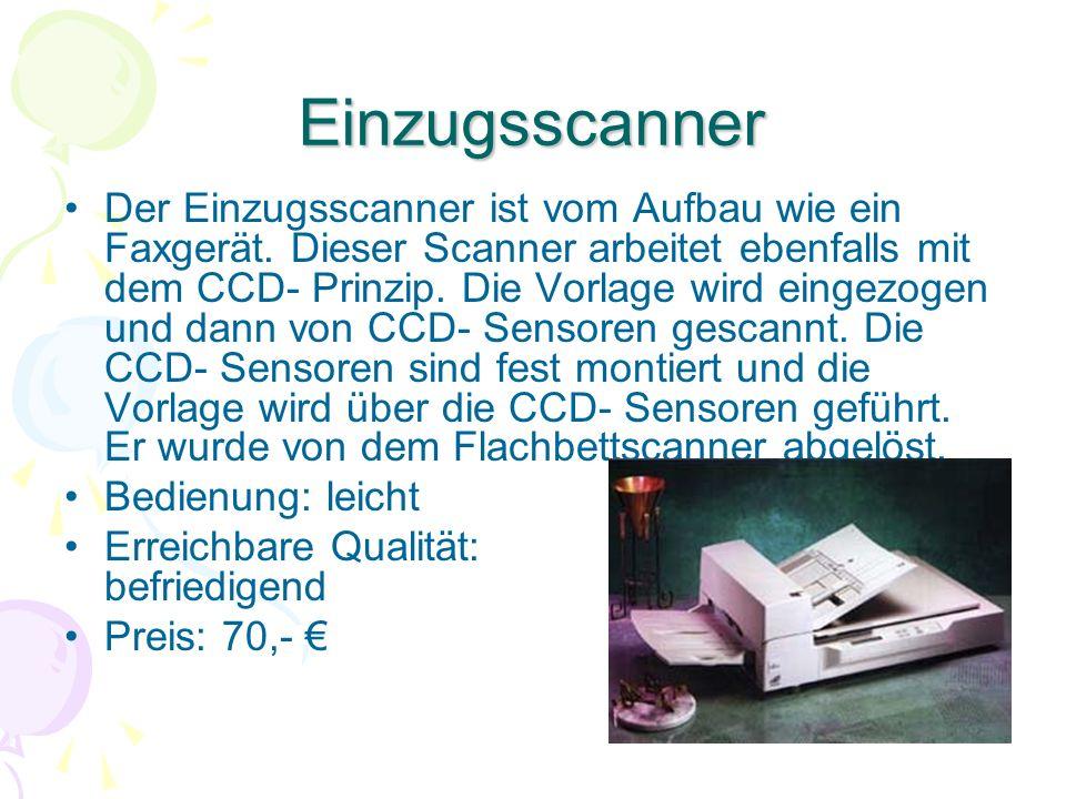 Einzugsscanner