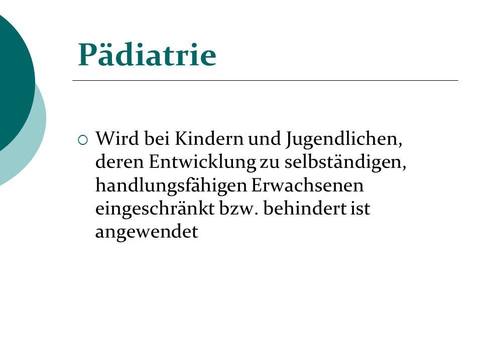 Pädiatrie