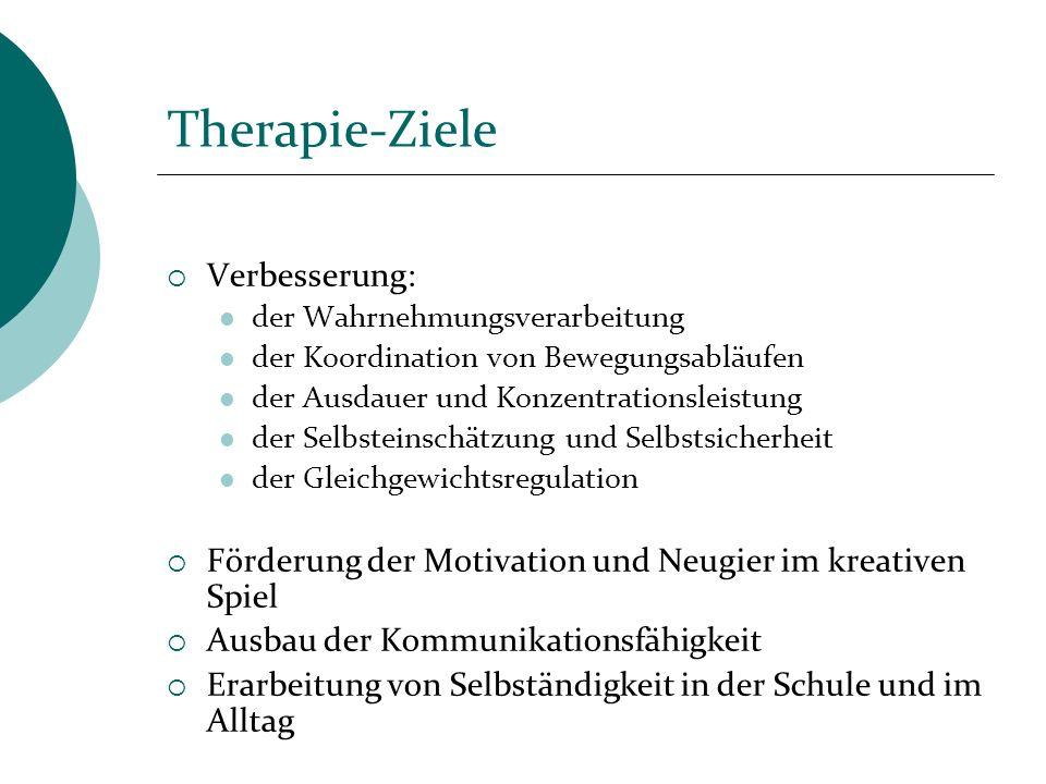 Therapie-Ziele Verbesserung: