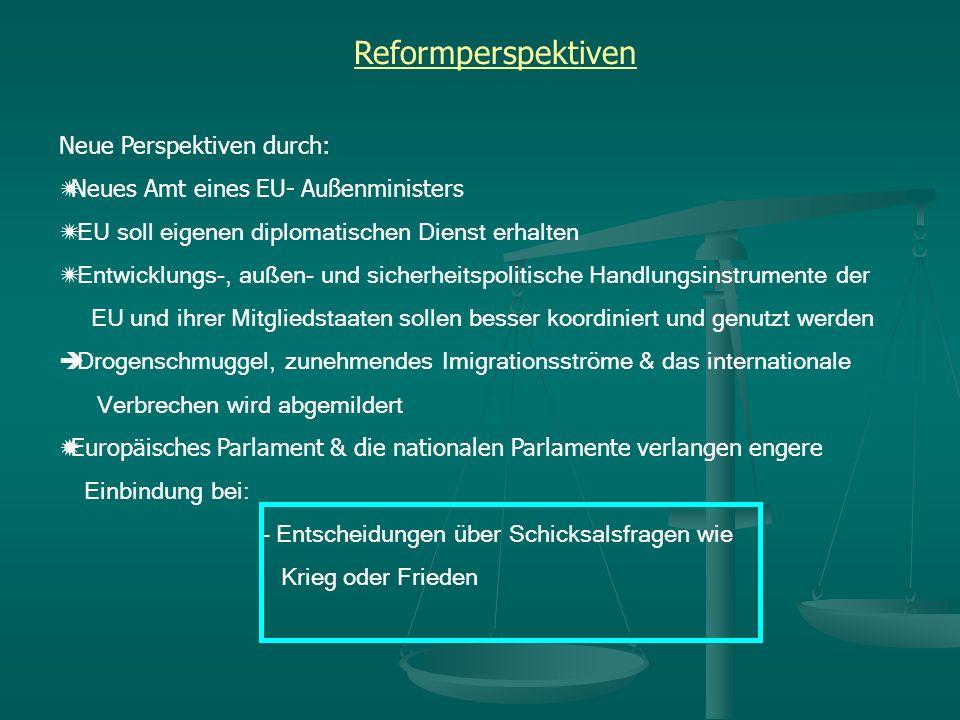 Reformperspektiven Neue Perspektiven durch: