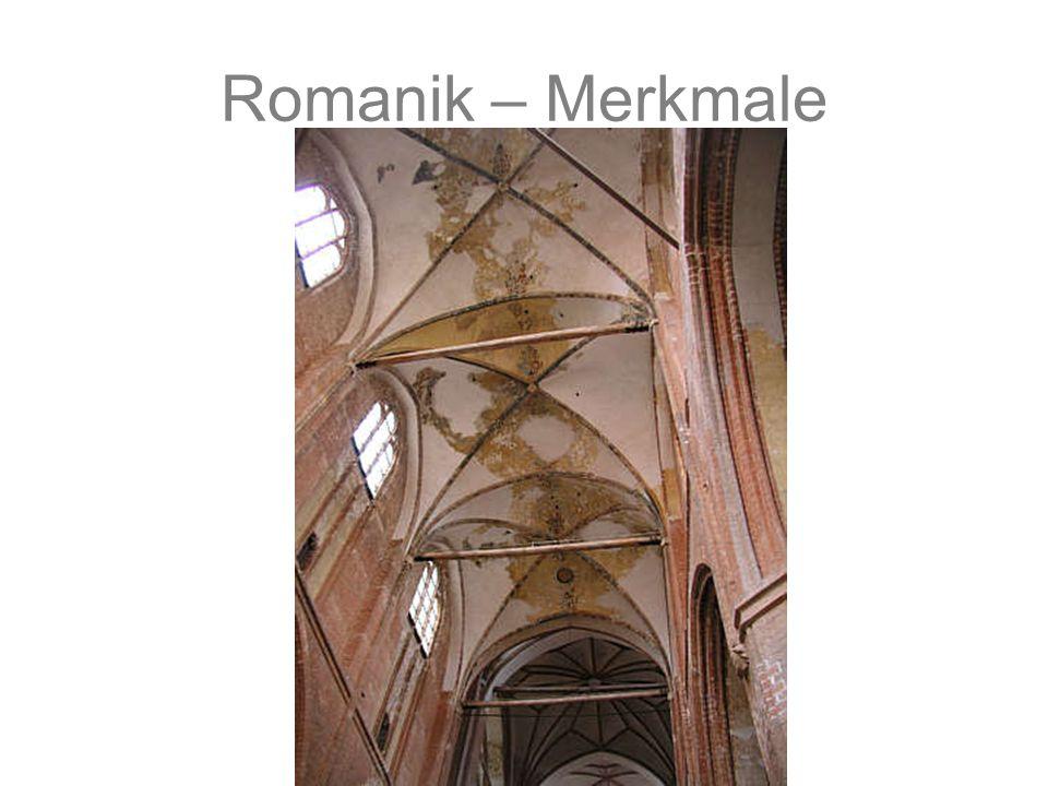Romanik – Merkmale Gebundenes System