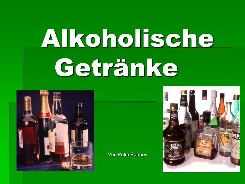 Alkoholische Getränke - ppt video online herunterladen